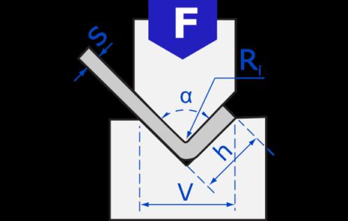 Precitools press brake bending calculator