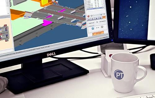 Studio della Precitools del progetto per le applicazioni di piegatura