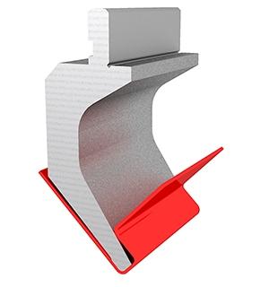 Gooseneck punch with bending of minimum distance between bends