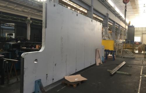 Press brake beam / traverse manufacturing
