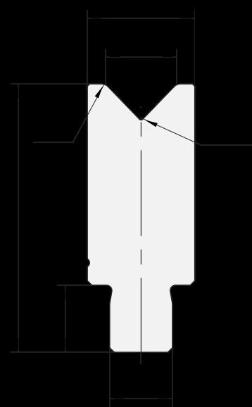 Matrici inserite Promecam per pressa piegatrice PDI-001