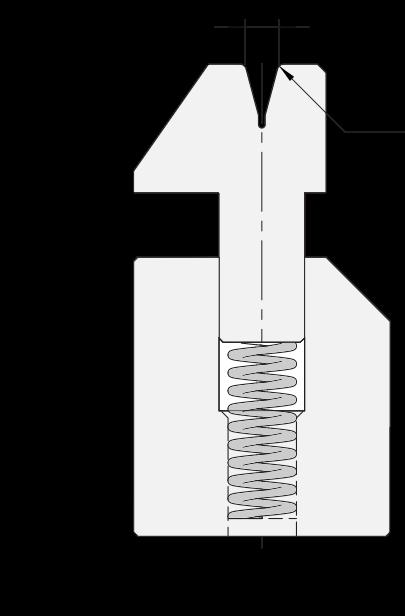Zudrückmatrize Promecam für Abkantpresse PHD-001