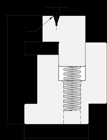 Zudrückmatrize Promecam für Abkantpresse PHD-002