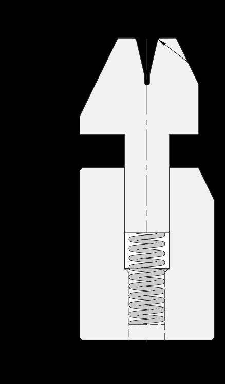 Zudrückmatrize Promecam für Abkantpresse PHD-003
