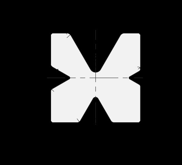 4V-Matrizen (Unterwerkzeuge) Promecam für Abkantpresse PMD-003 60MV