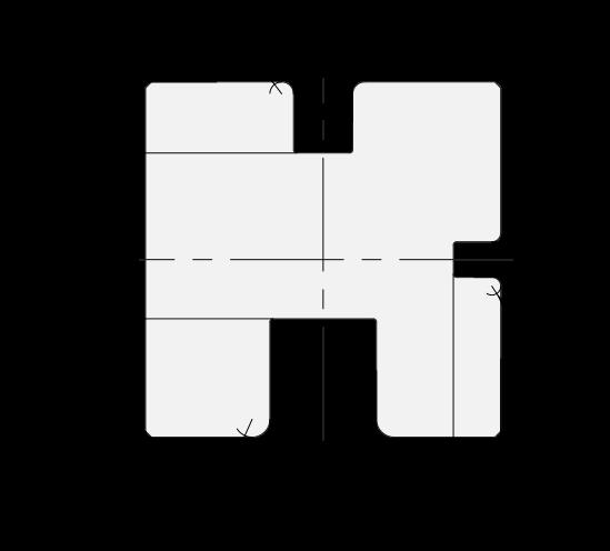 Matrice 3U Promecam per pressa piegatrice PMD-006 U3MV