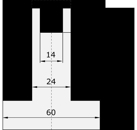 Promecam press brake holder PND-001H UN01