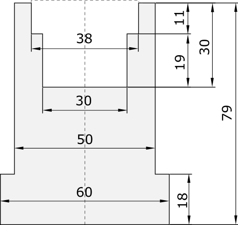 Promecam press brake holder PND-003H UN01