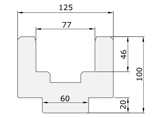 Halter Promecam für Abkantpresse PPD-003H UN12