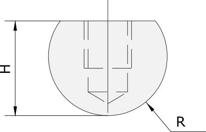Radius Einsatz Promecam für Abkantpresse PRI-011