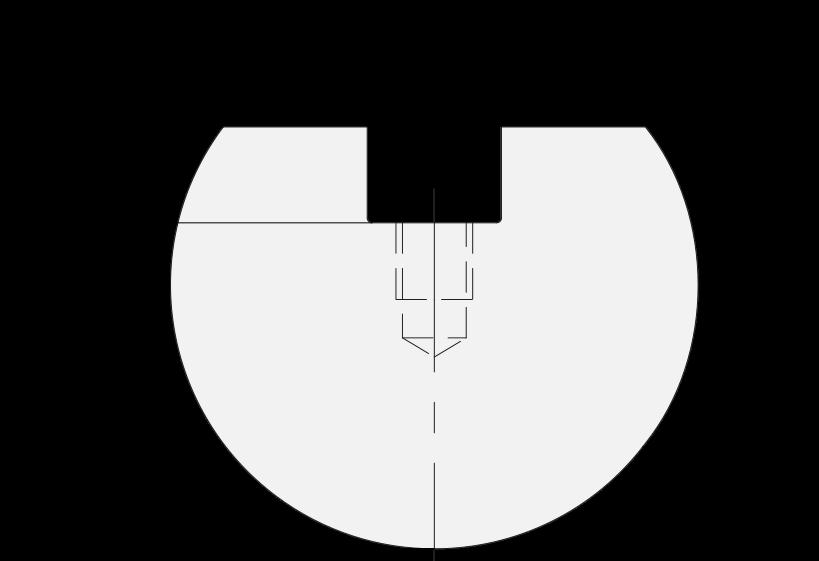 Promecam press brake radius insert PRI-013