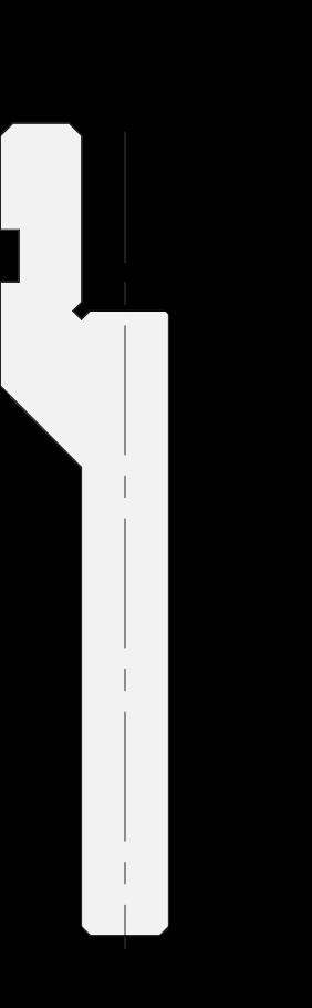 Gerade halter Promecam für Abkantpresse PRP-006H