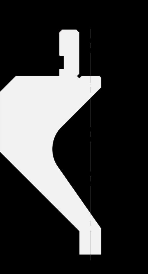 Promecam press brake gooseneck holder PRP-007H