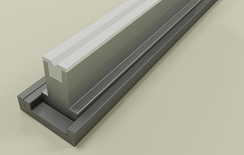 Installazione della matrice di nylon Promecam per pressa piegatrice